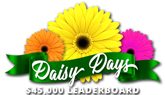 $45,000 Daisy Days Leaderboard
